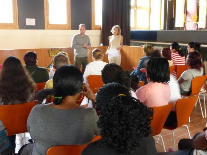 Alumnes as cursos de Català