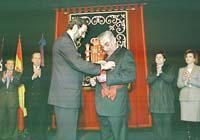 Mariano Rajoy i Pere A. Serra.