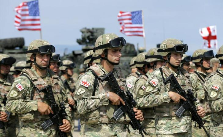 Joint multinational military exercise Nobel Partner 2017 in Georgia