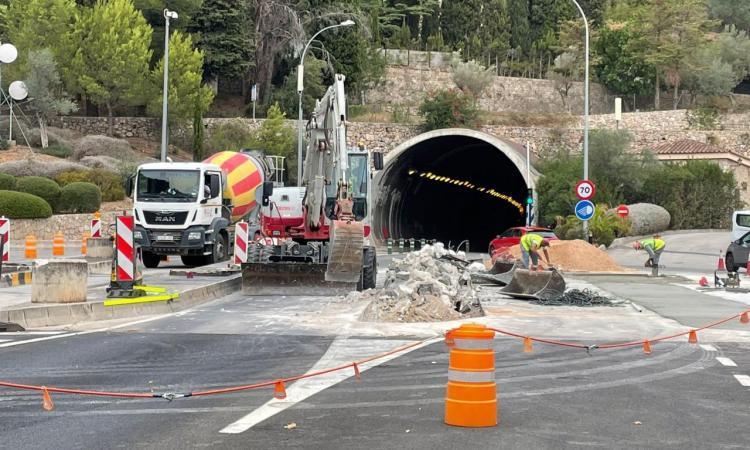 El Consell reprèn les obres a la sortida del túnel