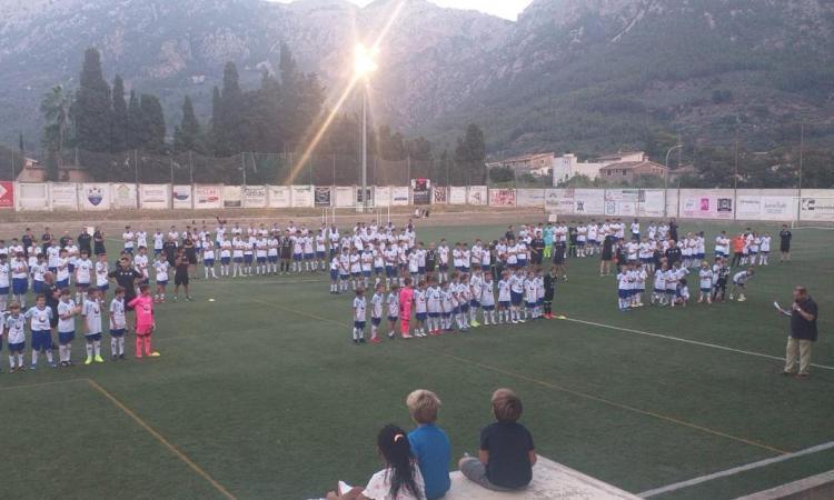 El camp den Maiol acull la presentació del Club Futbol Sóller