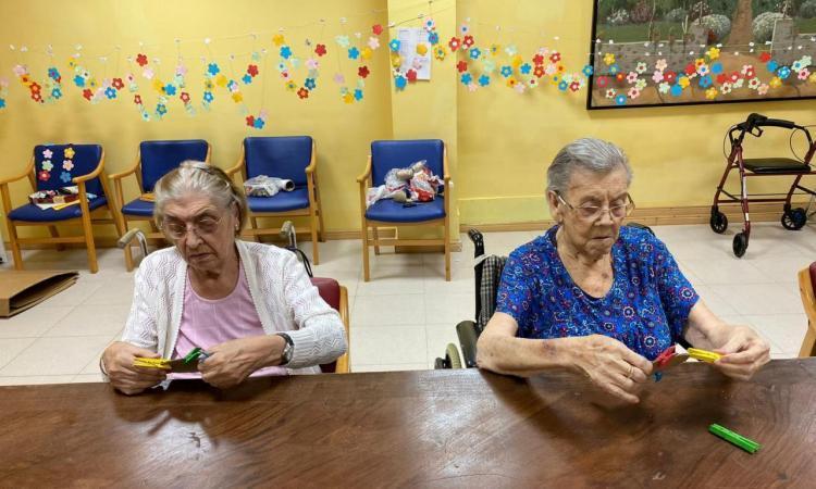 Els residents tornen a gaudir de les activitats grupals