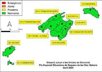 Les reserves hídriques de les Balears se situen en el 71%