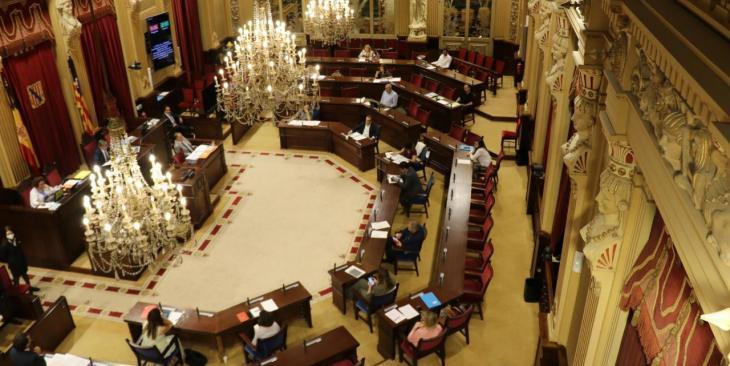 Suspesa la votació del decret per un conflicte amb diputats de Vox i Cs