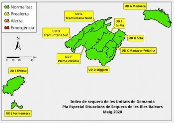 Les reserves hídriques de les Balears durant el maig se situen en el 73%