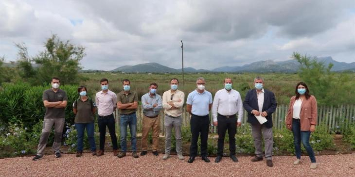 Medi Ambient constata les últimes actuacions de protecció de l'entorn de s'Albufereta