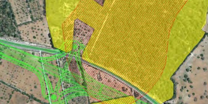 El Govern hauria comptabilitzat terrenys com a salvats pel decret que ja han estat arrasats per l'autopista Llucmajor-Campos