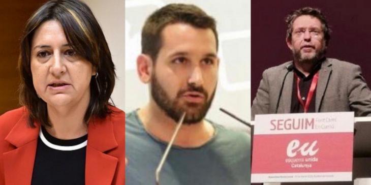 Esquerra Unida de les Balears, el País Valencià i Catalunya s'uneixen per reclamar el dret a l'ús del català