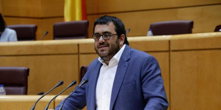 Vidal fa una crida a presentar una moció conjunta en defensa del català al Senat