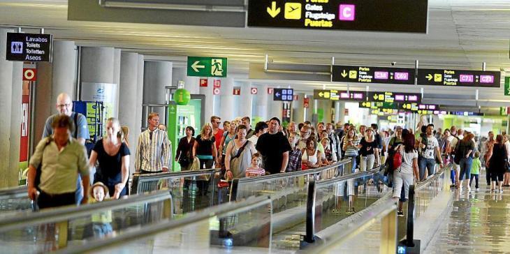 Les Balears rebran 2.300 turistes aquest cap de setmana en el marc del pla pilot