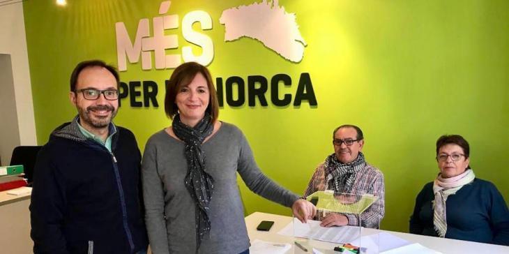 Més per Menorca celebra que gràcies a la seva tasca es mantenguin «projectes cabdals» que estaven en perill