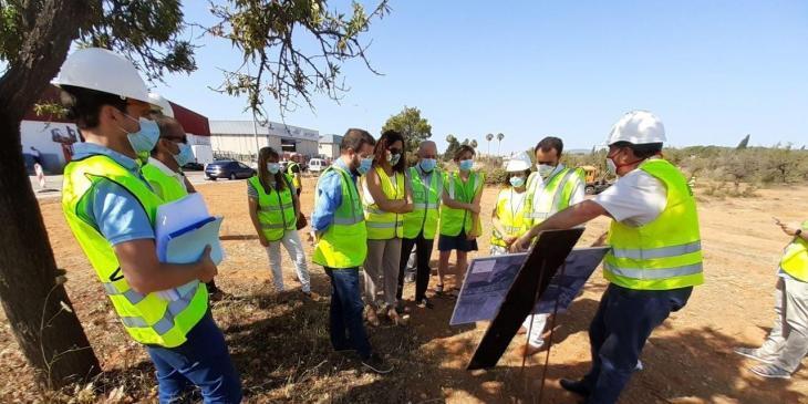 Comencen les obres del nou accés al polígon de Marratxí des de l'autopista a sa Pobla