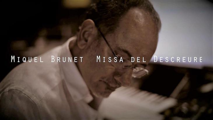 [VÍDEO] El músic Miquel Brunet publica el seu nou disc 'Missa del descreure'