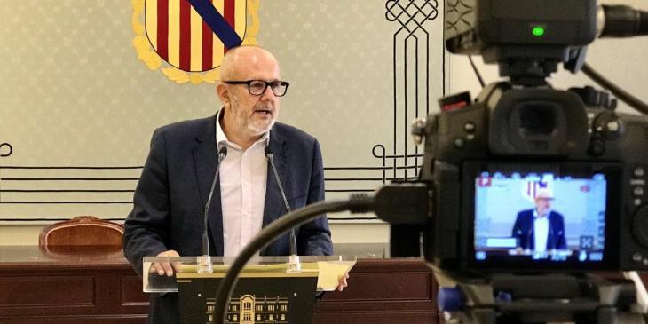 Ensenyat considera un «greuge comparatiu» que les Balears no puguin allargar els ERTO