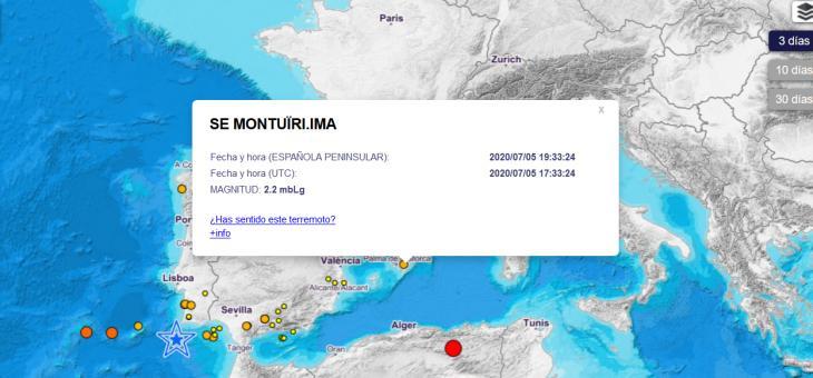 Mallorca registra un terratrèmol de 2,2 de magnitud