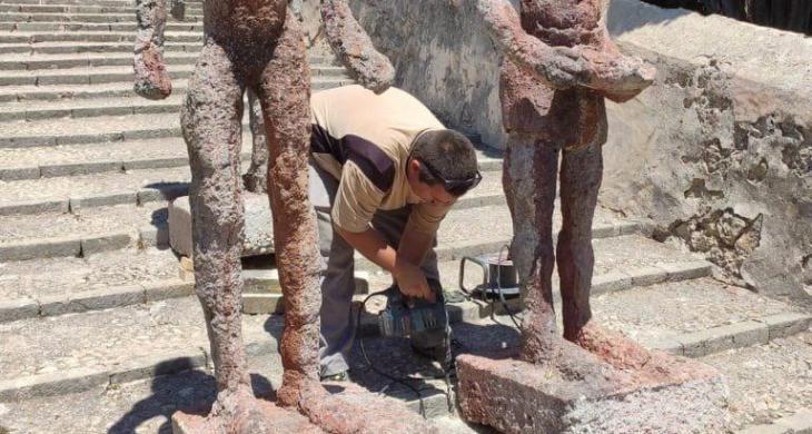 ARCA sol·licita a l'Ajuntament de Pollença reubicar una exposició d'escultures