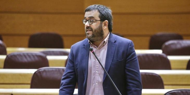 Vidal presenta una moció en el Senat en defensa de la unitat de la llengua catalana