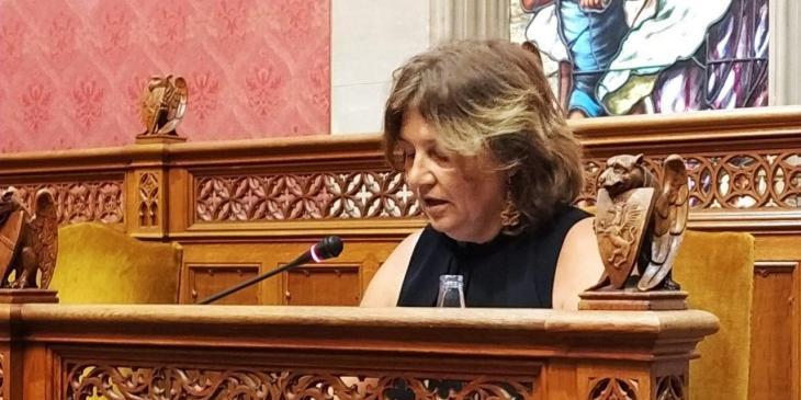 Catalina Mas s'acomiada com a consellera del Consell i MÉS li agraeix la seva labor