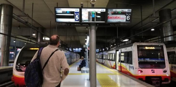 Els usuaris de metro de Palma s'enfonsen un 91% al maig i els d'autobús un 81%