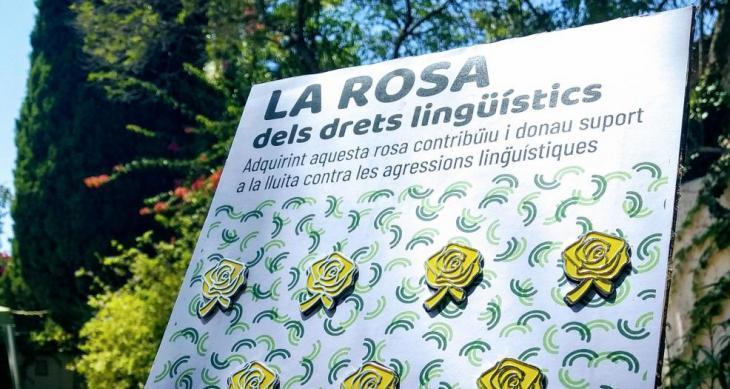 L'OCB fa una crida a la solidaritat i a lluir la Rosa dels drets lingüístics