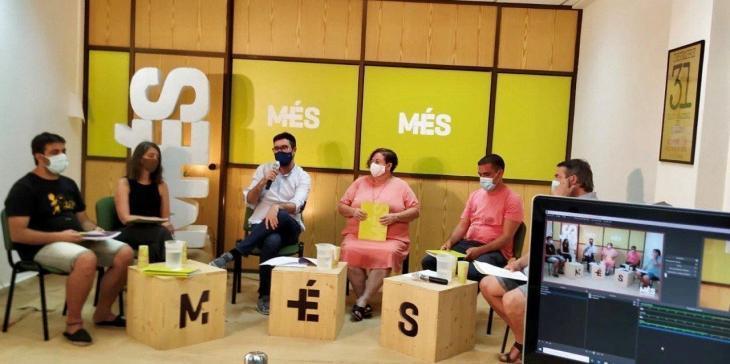 MÉS per Mallorca celebra la primera trobada virtual amb la militància