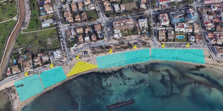 El Govern presenta sensors per a un control «minuciós» de l'aforament de les platges