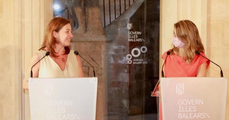La ministra Díaz defensa els ERTO i diu ara que Espanya té en compte les Balears
