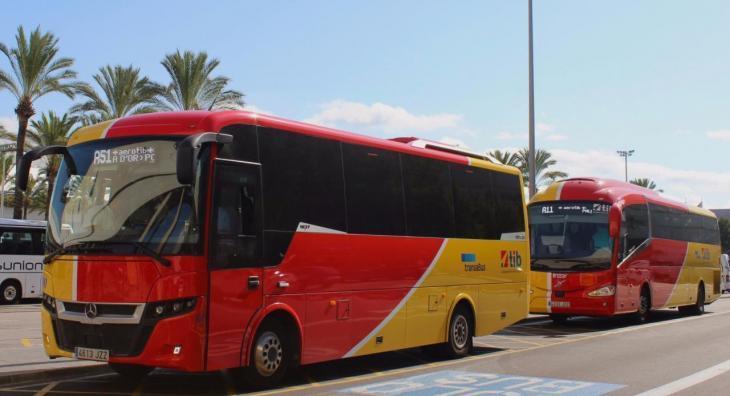 A partir de dilluns s'incrementen les freqüències de bus en els nuclis turístics
