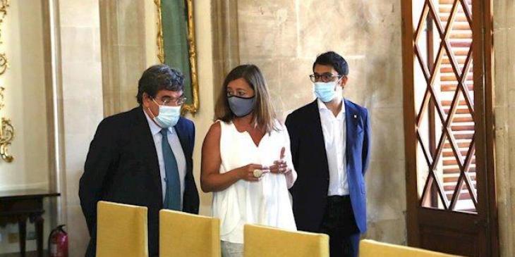 Armengol diu que les responsabilitats en torn a la causa de Juan Carlos I «són personals, no de la institució»
