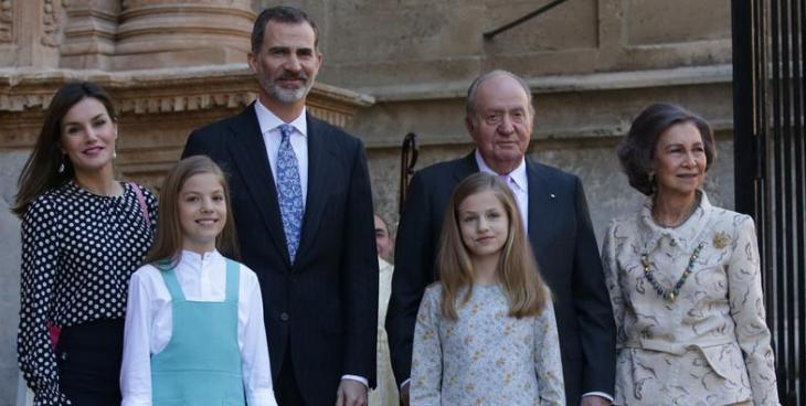 Ara Mallorca exigeix la retirada dels Borbons de l'Illa