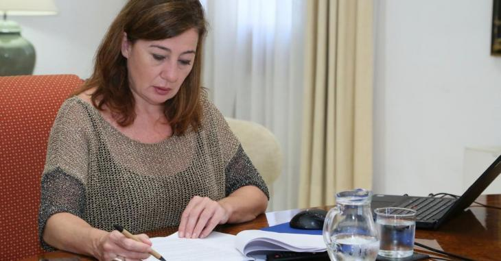 La UOB acusa Armengol de «submissió a Madrid» per la congelació de sous als treballadors públics