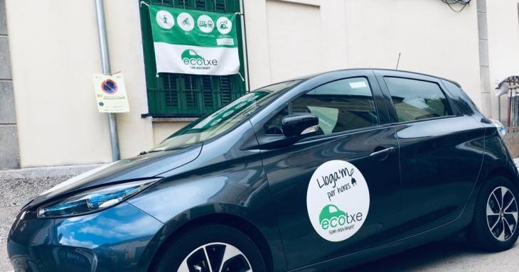Ecotxe aconsegueix el finançament cooperatiu per a un vehicle elèctric compartit a Esporles