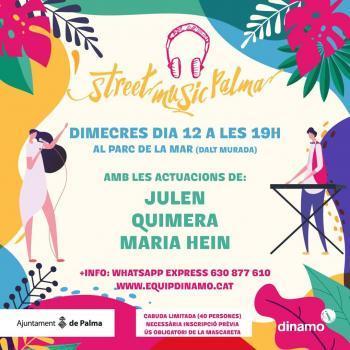 Arriba l'Street Music Palma 2020 al Parc de la Mar
