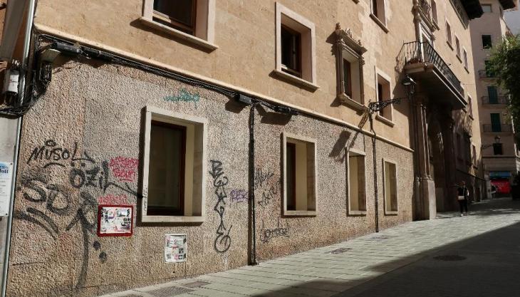 ARCA reactiva la seva campanya contra les pintades vandàliques a Palma