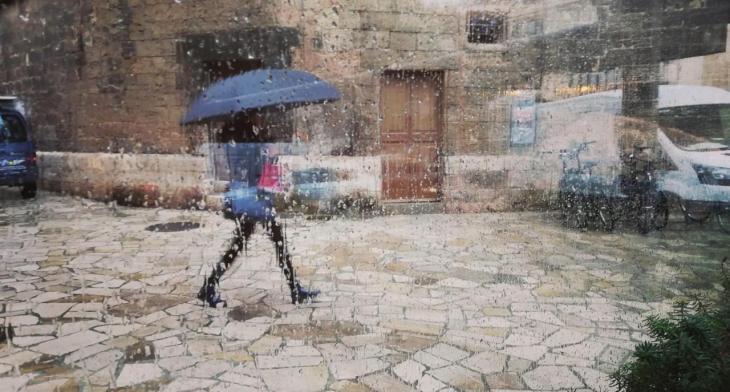 Les Balears es troben en alerta per pluges i tempestes a partir de dilluns