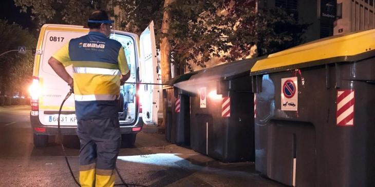 Emaya reinicia la desinfección de las calles en Son Gotleu, Pere Garau y el centro de Palma