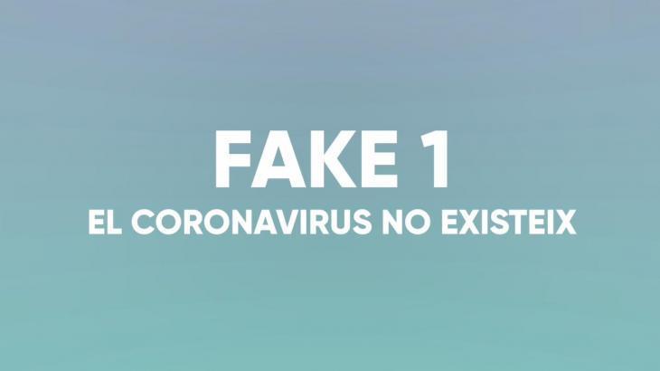 [VÍDEO] El Govern comença una campanya per combatre les 'fake news' sobre la Covid-19