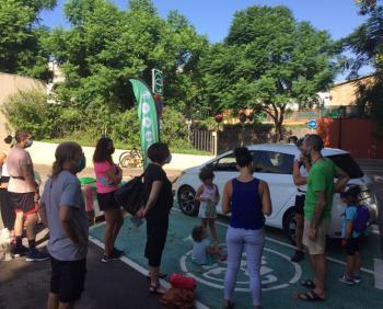 Ecotxe participa en el PARK(ing) Day per fomentar una mobilitat més sostenible