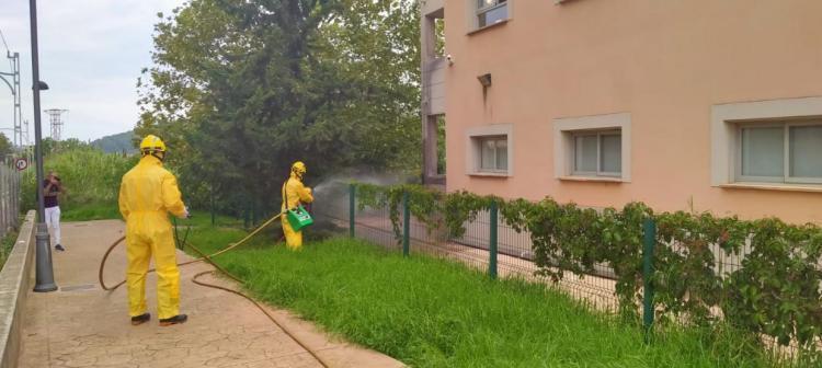 El Govern intervé la residència Bell Entorn per garantir la contenció dels contagis