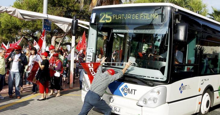 La Federació d'Associacions de Veïns de Palma demana la intervenció d'Hila en el conflicte de l'EMT