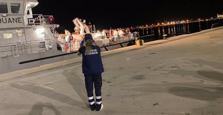 Detenguts 164 migrants arribats en barca a les Balears