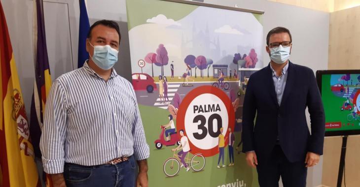 Palma es convertirà en Ciutat 30 el mes d'octubre