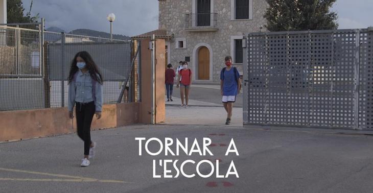 IB3 emet dissabte 'Tornar a l'escola', el recull documental d'un moment històric al món educatiu de les Balears