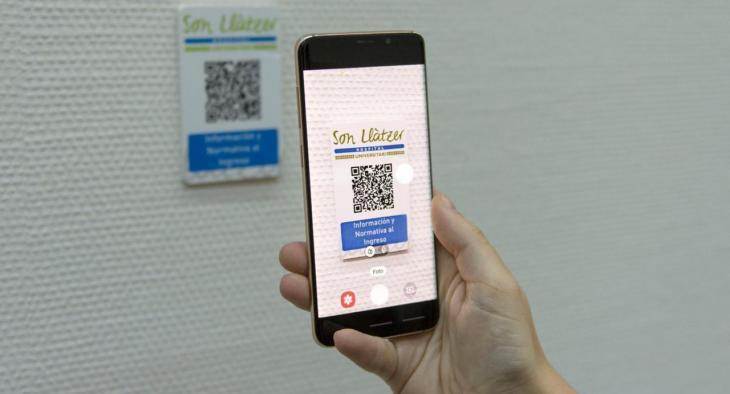 Els usuaris de l'hospital de Son Llàtzer podran tenir accés a informació pràctica per mitjà de codis QR