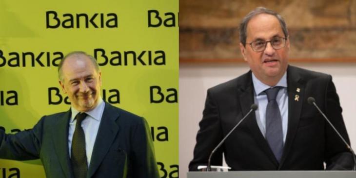 L'STEI critica la justícia espanyola, que absol Rodrigo Rato pel cas Bankia i inhabilita el president Torra «per un cas absurd»