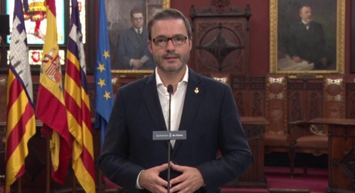 El batle de Palma agraeix «l'esforç i la responsabilitat» dels ciutadans dels barris confinats per la Covid-19
