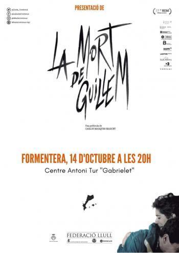 La pel·lícula 'La mort de Guillem' arriba a Formentera