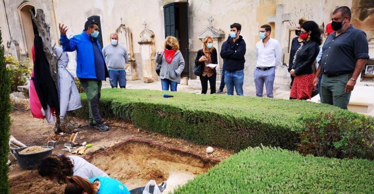 Iniciada la segona campanya d'excavacions a la fossa de Porreres