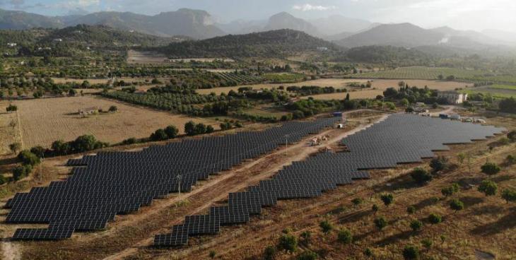 Es posa en servei el primer parc fotovoltaic a les Balears després de vuit anys