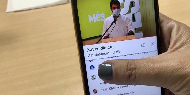 Plataforma digital de MÉS per Mallorca